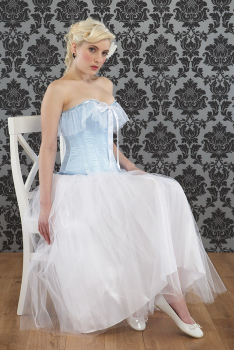 Cinderella or Alice in Wonderland, This Something Blue, Corset is a Fairy Tale