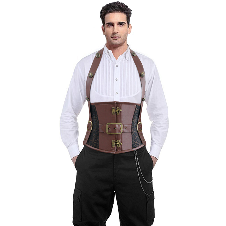 Mens Halter Corset Wear It Out