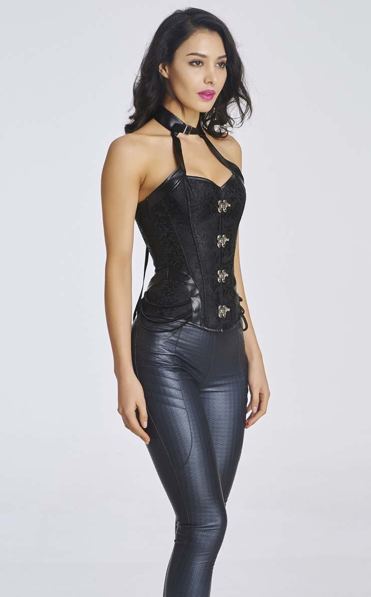 halterneck corset | wear it out